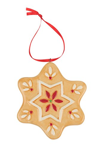 Spode Christmas Tree Ornament, Gingerbread Star