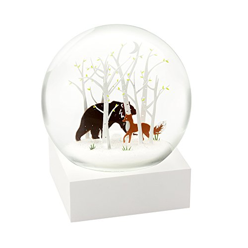 Fox and Bear Cool Snow Globe by CoolSnowGlobes