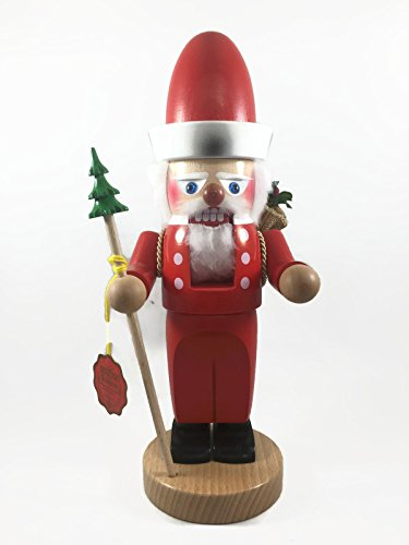 Steinbach Nutcrackers Wooden Chubby Santa 12 Inches Tall Collectible Christmas Figures Kurt Adler Brand New Hand Made in Germany