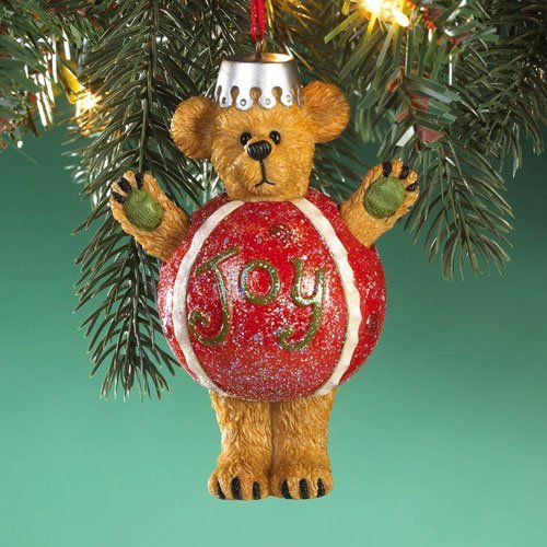Boyds Bears Resin JOY ORNAMENT 4016677 Christmas Bearstone New by BOYDS BEARS RESIN