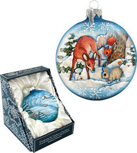 Forest Friends Ball Ornament