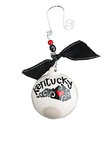 Glory Haus Kentucky Ball Ornament, 4.5″