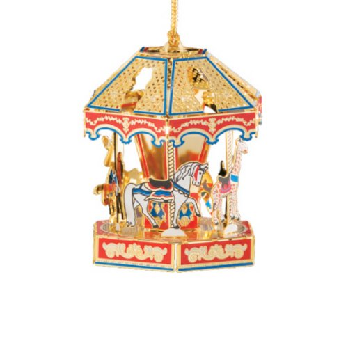 Baldwin Carousel Ornament