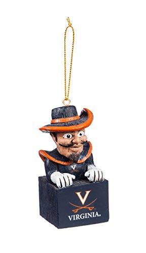 Team Sports America University of Virginia Team Mascot Ornament