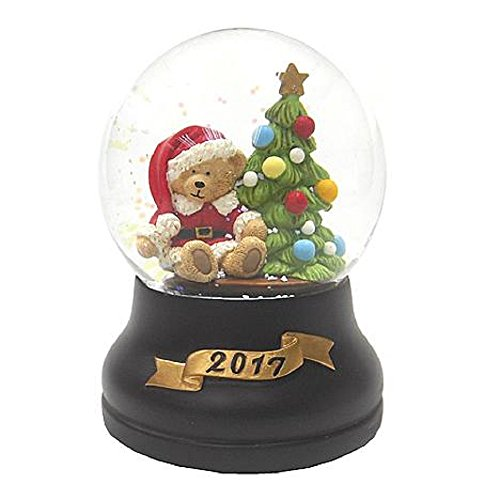 Trim A Home Christmas Musical Snowglobe – Bear Capture Those Warm Christmas Memories With This