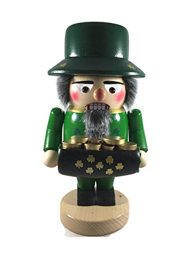Steinbach Nutcrackers Wooden Troll Irishman 11 Inches Tall Collectible Christmas Figures Kurt Adler Brand New Hand Made in Germany