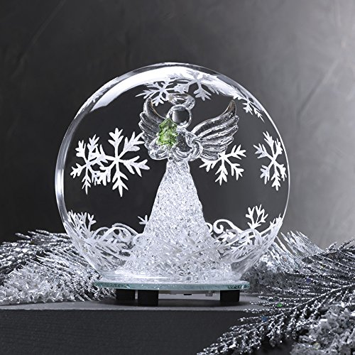 Glass Color Changing LED Angel Globe