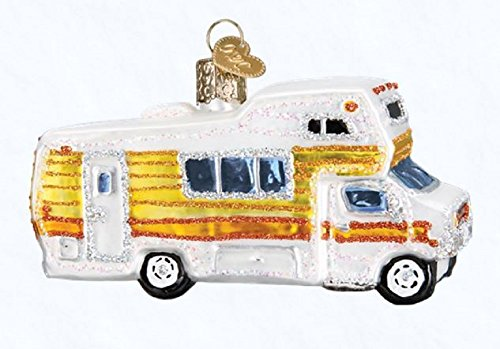 Old World Christmas Classic Motorhome, 4″