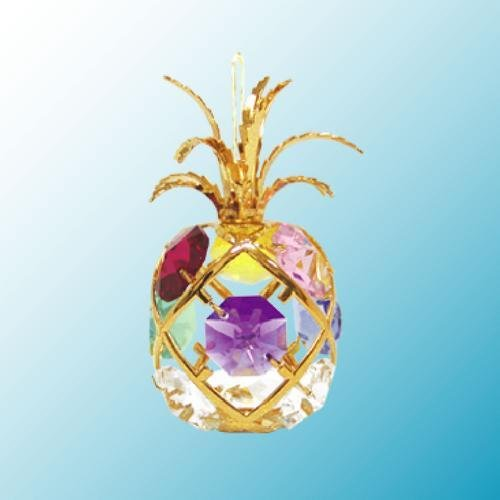 Gold Pineapple Suncatcher
