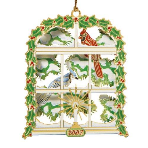 Baldwin 2007 Wintry Window Ornament