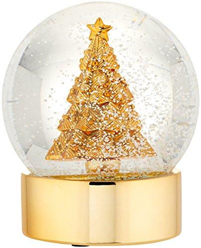 Lenox Tree Golden Snowglobe