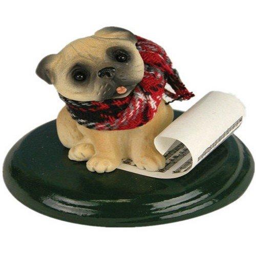 Pug Caroling Dog