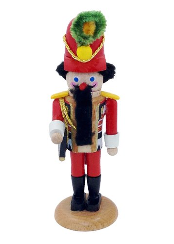 The Aide Steinbach Mini German Nutcracker 5.5″ King's Court Series Collection Christmas
