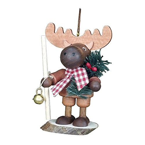 "Alexander Taron Importer 13-0705 This ""Little Roamer"" Elk Will Bring Lots Of Fun For You. Made By Christian Ulbricht in  Germany Of Wood"