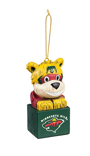 Team Sports America Minnesota Wild Team Mascot Ornament