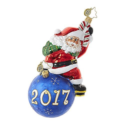 Christopher Radko Having A Ball! Dated 2017 Ornament 6″