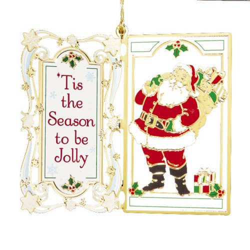 Baldwin 'Tis the Season 2-1/2-inch Ornament