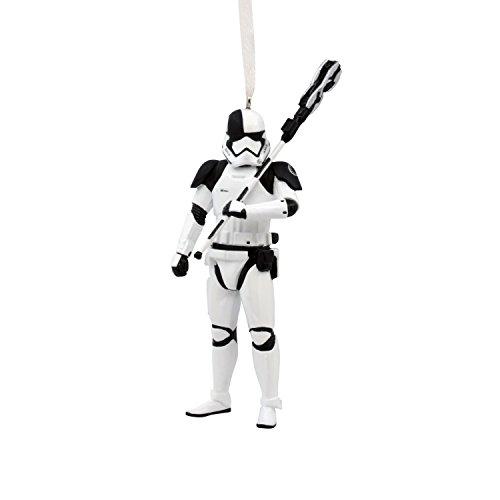 Hallmark 2HCM2222 Disney Lucasfilm Star Wars Ep VIII Trooper Christmas Ornaments