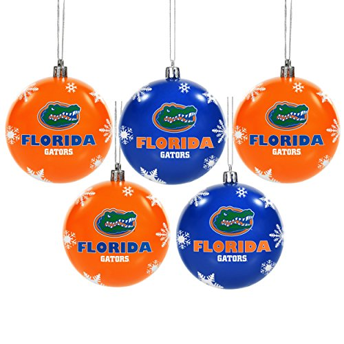 Florida 2016 5 Pack Shatterproof Ball Ornament Set