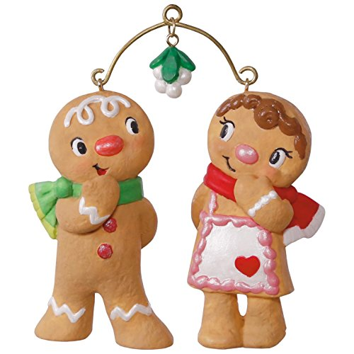 Hallmark Keepsake 2017 Cute Cookie Couple Christmas Ornament