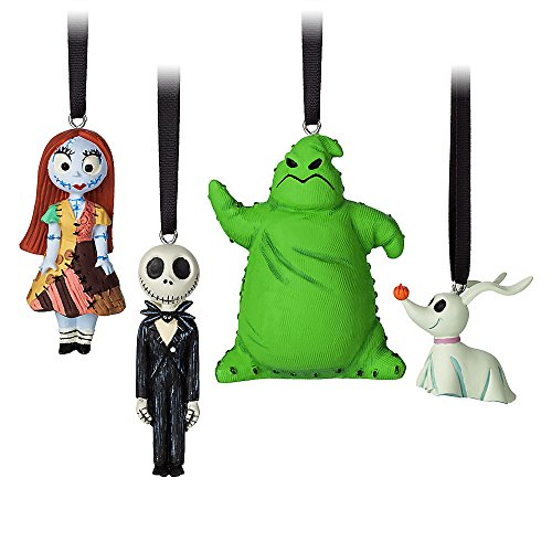 Disney Tim Burton's The Nightmare Before Christmas Sketchbook Mini Ornament Set