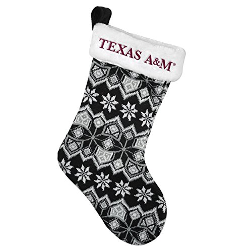 Texas A&M Aggies Official NCAA 19 inch Knit Christmas Stocking by Forever Collectibles 207158