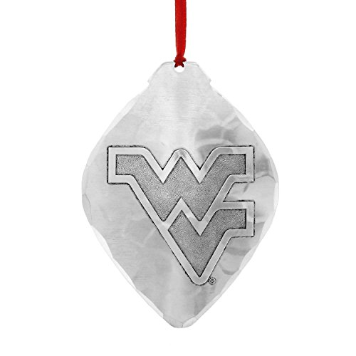 WVU Mountaineers Christmas Ornament