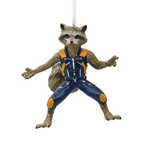 Hallmark Marvel Guardians of the Galaxy Rocket Raccoon Christmas Ornament