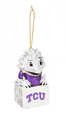Team Sports America TCU Horned Frogs Team Mascot Ornament