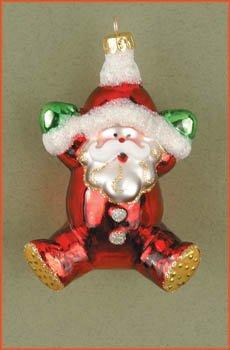 Cobane Studio LLC COBANEB217 PJ Santa Ornament