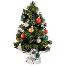 St. Louis Cardinals 16 inch Tree Set: Christmas Tree and Ornament Set