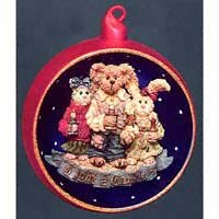 Boyd's Bears Light Candle…Limited Ornament #25723