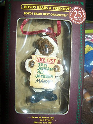"Boyds Bears & Friends Ornament ""Frostbeary"""