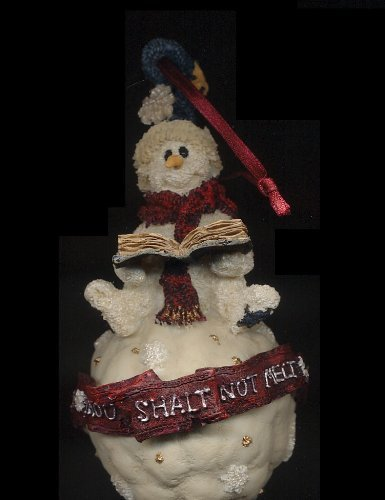 "BOYDS ORNAMENT ""AXEL…""THOU SHALT NOT MELT"" by BOYDS BEARS RESIN"