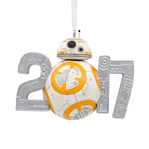 Disney Star Wars BB-8 Dated 2017 Holiday Christmas Ornament Hallmark Last Jedi
