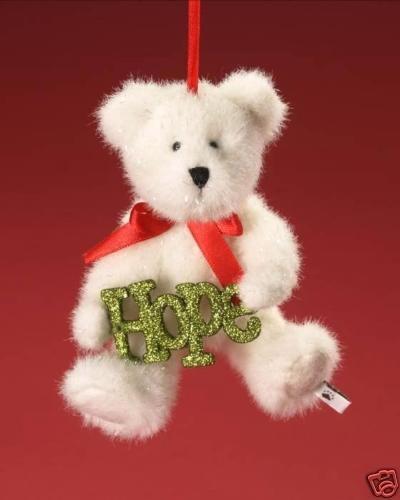 Boyds Sparklewish Hope Plush Ornament