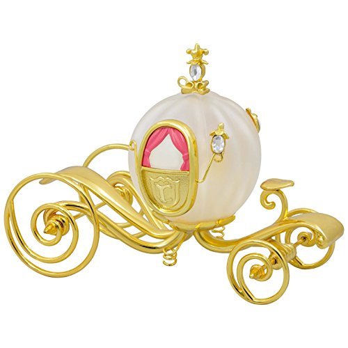 Hallmark Keepsake 2017 Disney Cinderella's Carriage Glass and Metal Christmas Ornament