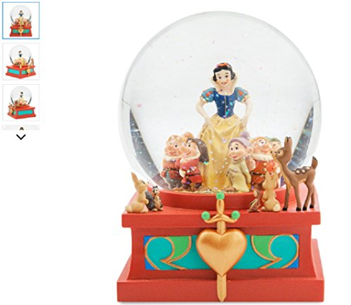 Disney Art of Snow White Snowglobe