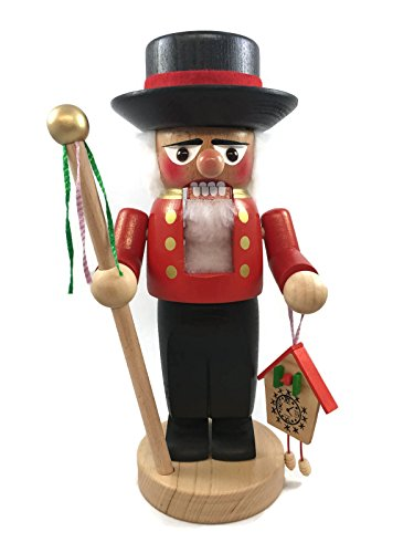 Steinbach Nutcrackers Wooden Chubby Forrester 11 Inches Tall Collectible Christmas Figures Kurt Adler Brand New Hand Made in Germany