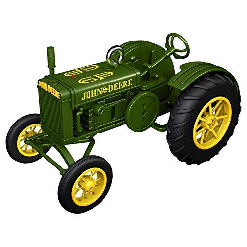 Hallmark Keepsake 2017 1928 John Deere Model GP Tractor Christmas Ornament