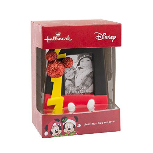 Hallmark Disney Mickey Mouse 2017 Picture Frame Christmas Ornament