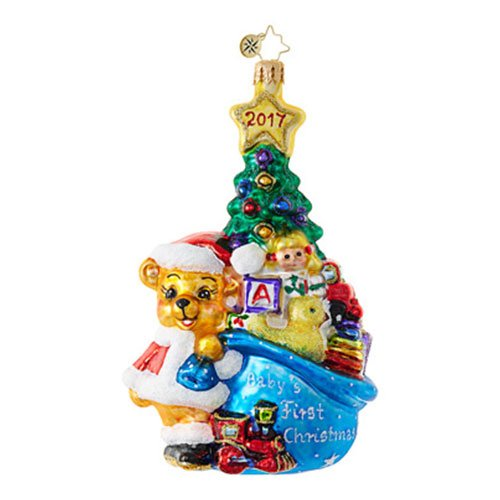 Christopher Radko A First For Everything Baby Christmas Ornament
