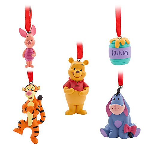 Disney Winnie the Pooh Sketchbook Mini Ornament Set