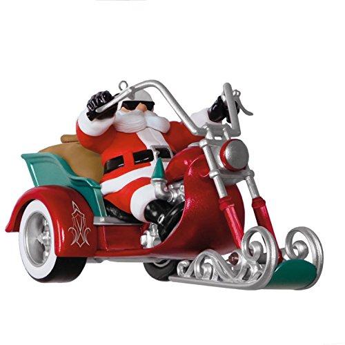 Hallmark Keepsake 2017 Leader of the Pack Motorcycle Musical Christmas Ornament