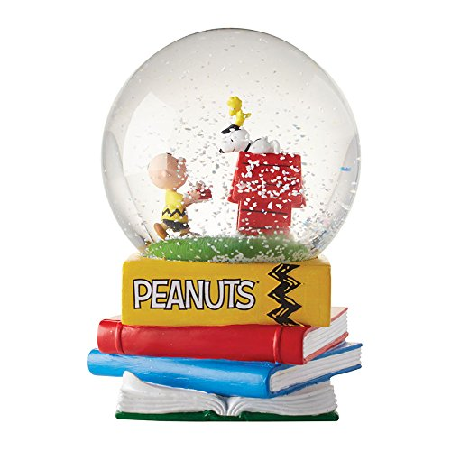 Department 56 Peanuts Happiness is Friendship Waterball Snowglobe