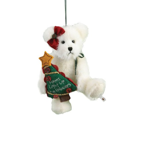 Boyd's Bears by Enesco Collectible Lil' Momma B Plush Mom Sentiment Ornament