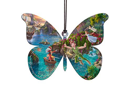 Disney Peter Pan Butterfly Shaped Hanging Acrylic – Thomas Kinkade Art