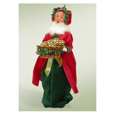 Old English Mrs. Claus Figurine