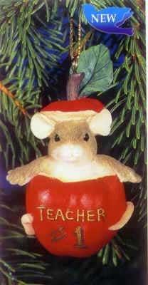 #1 Teacher ORNAMENT #86104