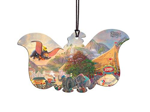 Disney Dumbo Elephant Shaped Hanging Acrylic – Thomas Kinkade Art